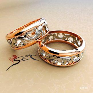Женские обручальные кольца