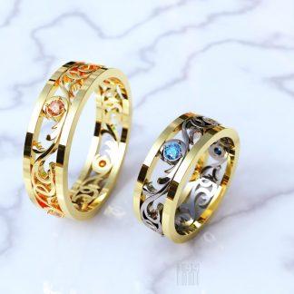 Серебряные (из серебра) обручальные кольца купить в Екатеринбурге и ... 0f87400fb62